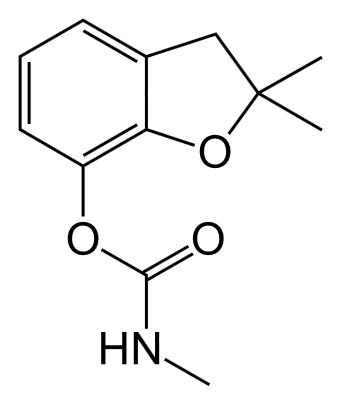 Carbofuran structure